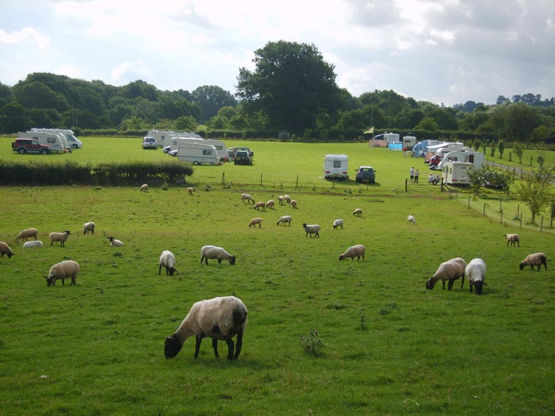 Caravan Rallies - Touring Caravan Park in Tenbury Wells