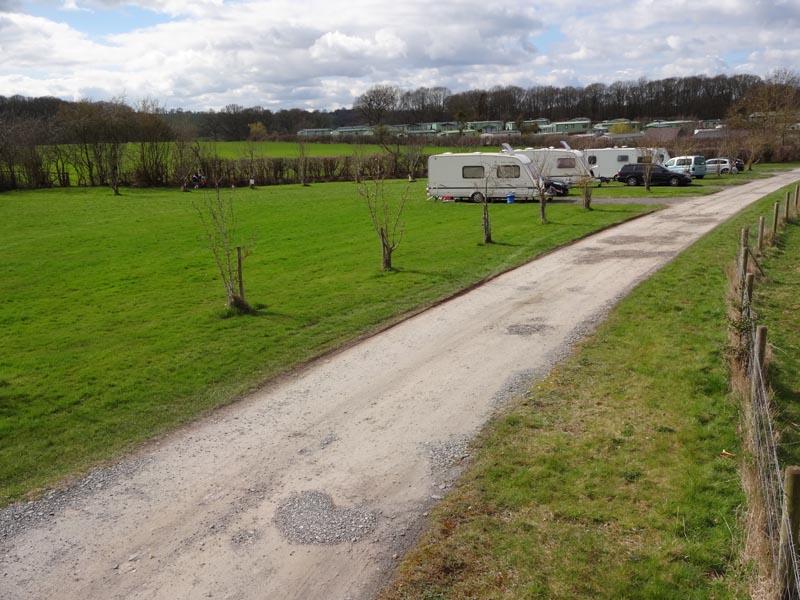 touring caravan park Worcestershire